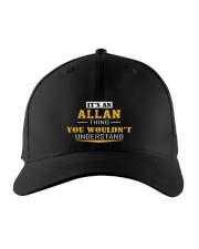 ALLAN - THING YOU WOULDNT UNDERSTAND Embroidered Hat front