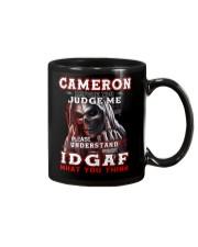 Cameron - IDGAF WHAT YOU THINK M003 Mug front