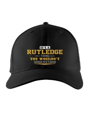RUTLEDGE - Thing You Wouldnt Understand Embroidered Hat front