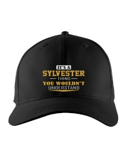 SYLVESTER - THING YOU WOULDNT UNDERSTAND Embroidered Hat front