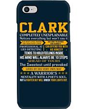 Clark - Completely Unexplainable Phone Case thumbnail
