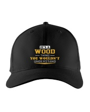 WOOD - Thing You Wouldnt Understand Embroidered Hat front