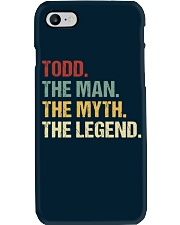 THE LEGEND - Todd Phone Case thumbnail