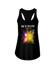 Wendy - I Am The Storm TCH1 Ladies Flowy Tank front