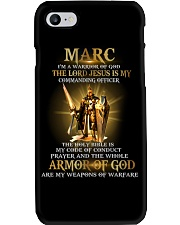 Marc - Warrior of God M004 Phone Case thumbnail