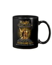 Marc - Warrior of God M004 Mug front
