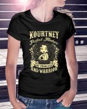 PRINCESS AND WARRIOR - Kourtney Ladies T-Shirt lifestyle-women-crewneck-front-7