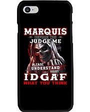 Marquis - IDGAF WHAT YOU THINK M003 Phone Case thumbnail