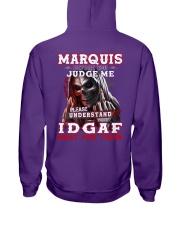 Marquis - IDGAF WHAT YOU THINK M003 Hooded Sweatshirt thumbnail