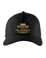 KIEFER - THING YOU WOULDNT UNDERSTAND Embroidered Hat front