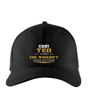 TEO - THING YOU WOULDNT UNDERSTAND Embroidered Hat front