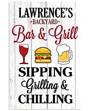 Lawrence's FL01  24x36 Poster front