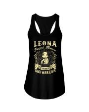 PRINCESS AND WARRIOR - LEONA Ladies Flowy Tank thumbnail