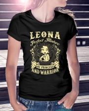 PRINCESS AND WARRIOR - LEONA Ladies T-Shirt lifestyle-women-crewneck-front-7