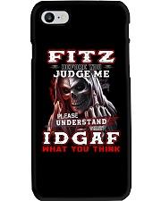 Fitz - IDGAF WHAT YOU THINK M003 Phone Case thumbnail