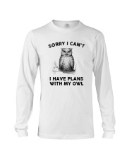 I have plans with owl Long Sleeve Tee thumbnail