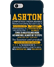 Ashton - Completely Unexplainable Phone Case thumbnail