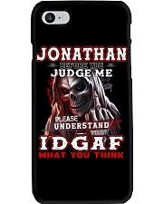 Jonathan - IDGAF WHAT YOU THINK M003 Phone Case thumbnail