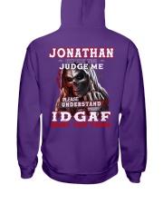 Jonathan - IDGAF WHAT YOU THINK M003 Hooded Sweatshirt thumbnail