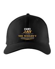 JAY - Thing You Wouldn't Understand Embroidered Hat front