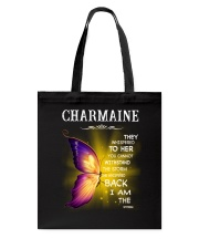 Charmaine - I Am The Storm TCH1 Tote Bag back
