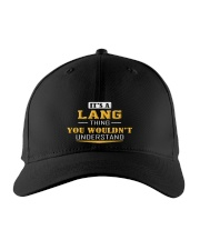 LANG - Thing You Wouldnt Understand Embroidered Hat front