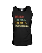 Danilo The man The myth The bad influence Unisex Tank thumbnail