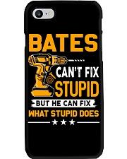BATES - FIX WHAT STUPID DOES Phone Case thumbnail