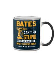BATES - FIX WHAT STUPID DOES Color Changing Mug thumbnail
