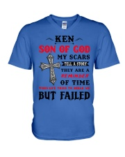 Ken  - Son Of God  V-Neck T-Shirt thumbnail