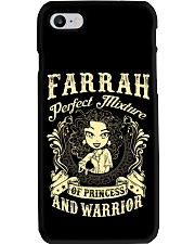 PRINCESS AND WARRIOR - FARRAH Phone Case thumbnail