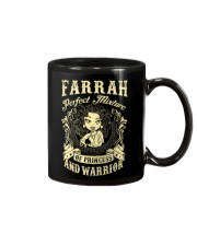 PRINCESS AND WARRIOR - FARRAH Mug thumbnail