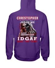 Christopher - IDGAF WHAT YOU THINK M003 Hooded Sweatshirt thumbnail