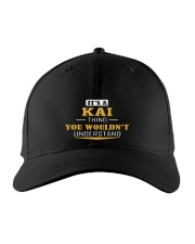 KAI - THING YOU WOULDNT UNDERSTAND Embroidered Hat front