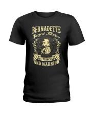 PRINCESS AND WARRIOR - BERNADETTE Ladies T-Shirt front