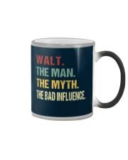 Walt The man The myth The bad influence Color Changing Mug thumbnail