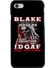 Blake - IDGAF WHAT YOU THINK M003 Phone Case thumbnail