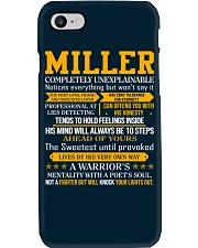 Miller - Completely Unexplainable Phone Case thumbnail