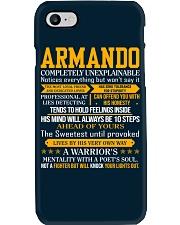 Armando - Completely Unexplainable Phone Case thumbnail