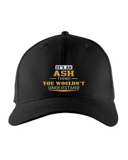 ASH - THING YOU WOULDNT UNDERSTAND Embroidered Hat front