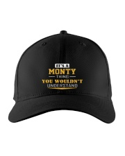 MONTY - THING YOU WOULDNT UNDERSTAND Embroidered Hat front