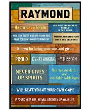 Raymond - PT01 24x36 Poster front