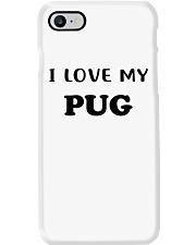 I LOVE MY PUG Phone Case thumbnail