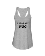 I LOVE MY PUG Ladies Flowy Tank thumbnail