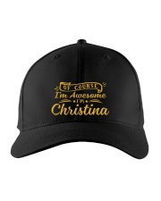 Christina - Im awesome Embroidered Hat front