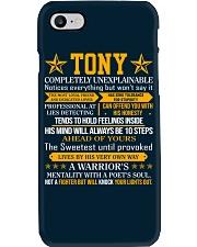 Tony - Completely Unexplainable Phone Case thumbnail