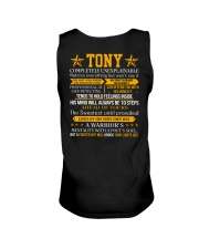 Tony - Completely Unexplainable Unisex Tank thumbnail