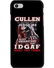 Cullen - IDGAF WHAT YOU THINK M003 Phone Case thumbnail