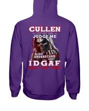 Cullen - IDGAF WHAT YOU THINK M003 Hooded Sweatshirt thumbnail