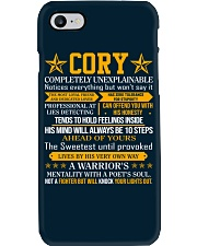 Cory - Completely Unexplainable Phone Case thumbnail
